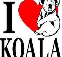 I love Koala by Port-Stevens