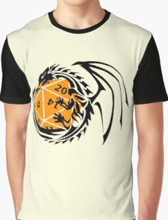 Dungeons and Dragons - Black and Orange! Graphic T-Shirt