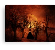 Walking Out of the Storm Canvas Print