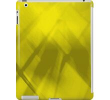 Abstract Art in Gold iPad Case/Skin
