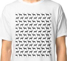 Reindeer BW - by Andrea Lauren  Classic T-Shirt