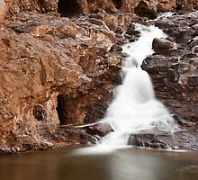Dwindling Waterfall by April Koehler