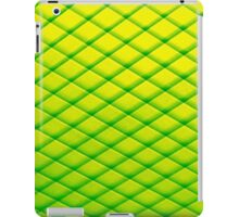 Abstract Art - the Green Fence iPad Case/Skin