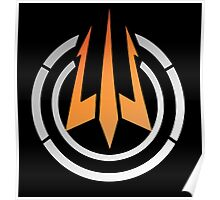 Call of Duty - Trident logo Bo 3 Poster