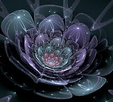 Glass Flower (available in ipad case) by Jess Meacham