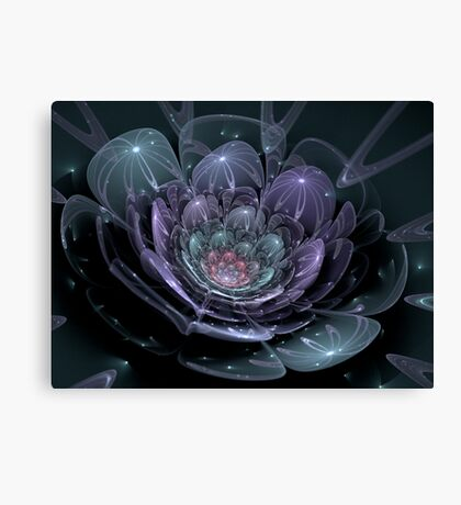 Glass Flower (available in ipad case) Canvas Print