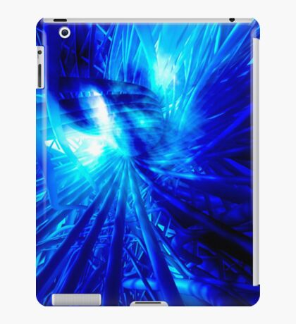 Blue Cables iPad Case/Skin