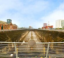 RMS Titanics dry dock and pump house by peaky40