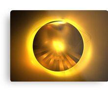 Caramel Sun Metal Print