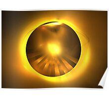 Caramel Sun Poster