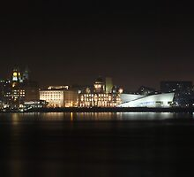 Liverpool Cityscape Panoramic by Paul Madden