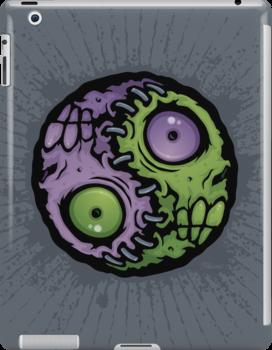 Zombie Yin-Yang by fizzgig