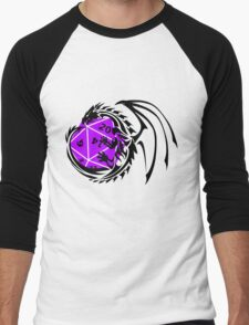 Dungeons and Dragons - Black and Purple! Men's Baseball ¾ T-Shirt