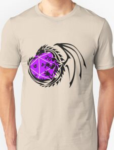 Dungeons and Dragons - Black and Purple! T-Shirt