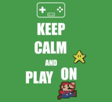 Keep calm play on by Krs  Props
