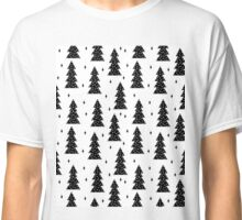 Trees BW - by Andrea Lauren  Classic T-Shirt