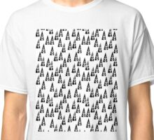 Christmas Tree BW - by Andrea Lauren  Classic T-Shirt