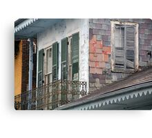 New Orleans Windows and Doors IX Canvas Print