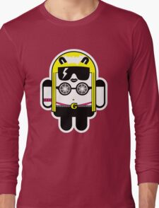 Lady Gaga goes Google Android Style!  Long Sleeve T-Shirt