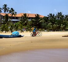 Bikes on the beach................... by ronsaunders47