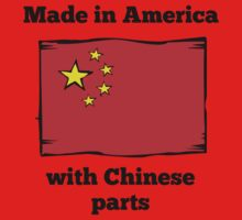 Made In America With Chinese Parts Kids Clothes