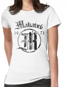 Makaveli 1971 Womens Fitted T-Shirt