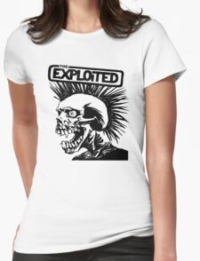 THE Exploited punk Rock Womens Fitted T-Shirt