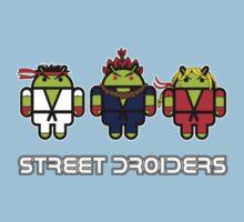 Street Droiders (Ryu, Akuma, Ken) Kids Clothes