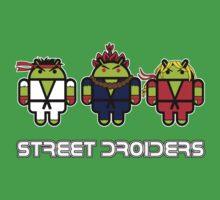 Street Droiders (Ryu, Akuma, Ken) Kids Tee