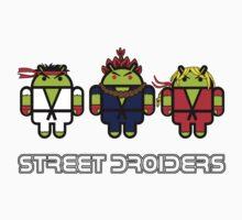 Street Droiders (Ryu, Akuma, Ken) One Piece - Short Sleeve