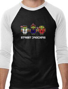 Street Droiders (Ryu, Akuma, Ken) Men's Baseball ¾ T-Shirt