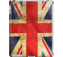 UK Flag - Battleworn iPad Case/Skin