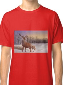 Winter Sunrise Classic T-Shirt