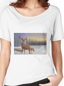Winter Sunrise Women's Relaxed Fit T-Shirt