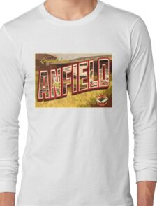 Greetings from Anfield (Liverpool FC) Long Sleeve T-Shirt