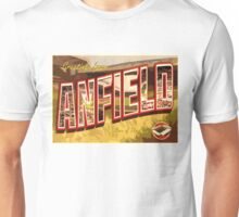 Greetings from Anfield (Liverpool FC) Unisex T-Shirt