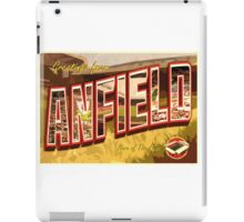 Greetings from Anfield (Liverpool FC) iPad Case/Skin
