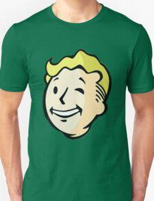 Fallout - Vault Boy Pattern T-Shirt