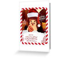 Swiftmas Greeting Card