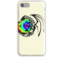 Dungeons and Dragons - Black and Rainbow (Prismatic)! iPhone Case/Skin