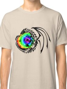Dungeons and Dragons - Black and Rainbow (Prismatic)! Classic T-Shirt