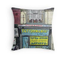 tattoomania Throw Pillow