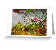 Blue Waters of Banias Greeting Card