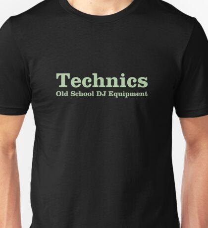 Technics Green Unisex T-Shirt