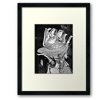 His Holiness the Pope. Framed Print