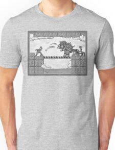 Super Mario Final Koopa Vintage Engraving Unisex T-Shirt