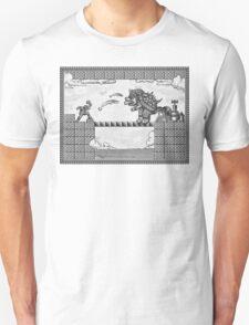 Super Mario Final Koopa Vintage Engraving T-Shirt