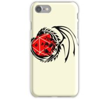Dungeons and Dragons - Black and Red! iPhone Case/Skin