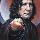 Snape, Defense against the Dark Arts - iPad case by Cynthia Blair
