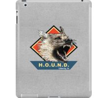 Project H.O.U.N.D. iPad Case/Skin